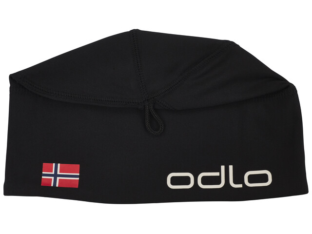 Odlo Polyknit Fan Hat black/Norwegian Flag
